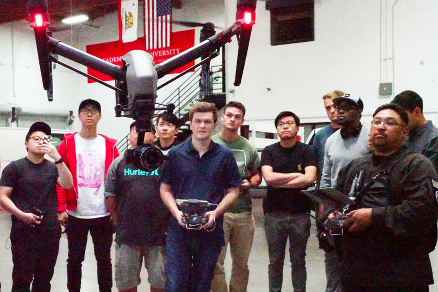 teaching instruction drone technology